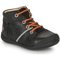 Topánky Chlapci Polokozačky GBB OULOU Čierna