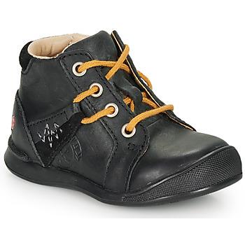 Topánky Chlapci Polokozačky GBB ORBINO Čierna