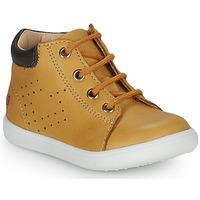 Topánky Chlapci Členkové tenisky GBB FOLLIO Okrová-svetlá hnedá