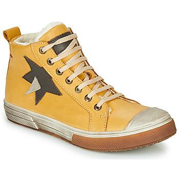Topánky Chlapci Členkové tenisky GBB OCALIAN Žltá