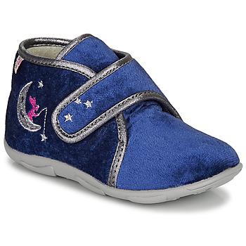 Topánky Dievčatá Papuče GBB OCELINA Modrá