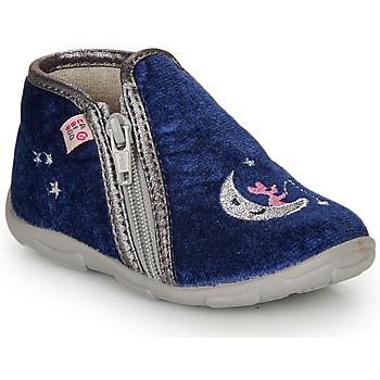 Topánky Dievčatá Papuče GBB OLILE Modrá