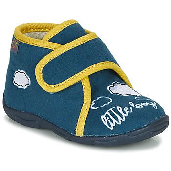 Topánky Chlapci Papuče GBB OKANDI Modrá / Žltá