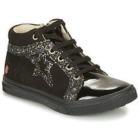 Topánky Dievčatá Členkové tenisky GBB NAVETTE Čierna