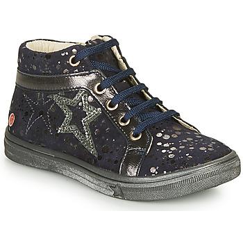 Topánky Dievčatá Členkové tenisky GBB NAVETTE Námornícka modrá