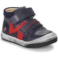 Topánky Chlapci Členkové tenisky GBB OGROU Modrá / Červená