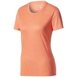 Oblečenie Ženy Tričká s krátkym rukávom adidas Originals SN SS Tee W Oranžová