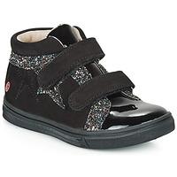 Topánky Dievčatá Členkové tenisky GBB OHANE Čierna
