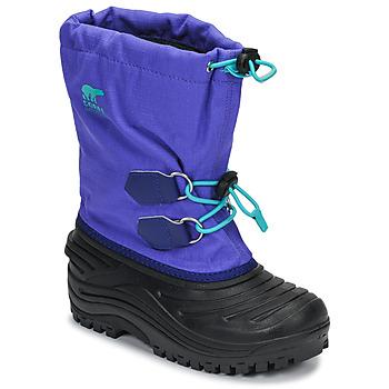 Topánky Deti Obuv do snehu Sorel YOUTH SUPER TROOPER™ Modrá