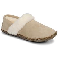 Topánky Ženy Papuče Sorel NAKISKA SLIPPER II Béžová