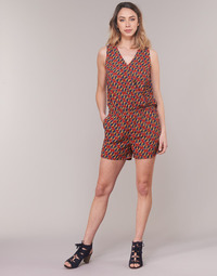 Oblečenie Ženy Módne overaly Moony Mood KETTELLE Červená / Viacfarebná