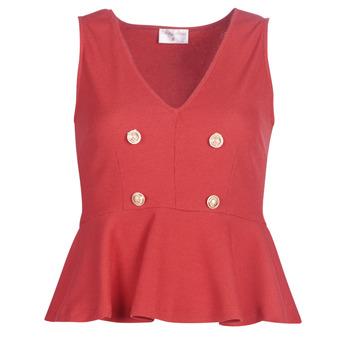 Oblečenie Ženy Blúzky Moony Mood KITTILE Červená