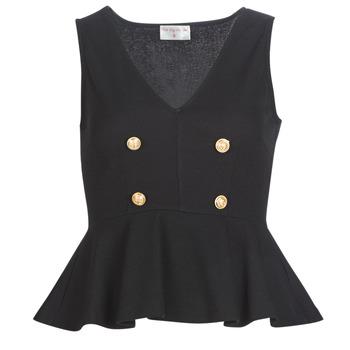 Oblečenie Ženy Blúzky Moony Mood KILLE Čierna
