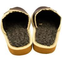 Topánky Ženy Papuče John-C Dámske hnedé papuče LISA hnedá