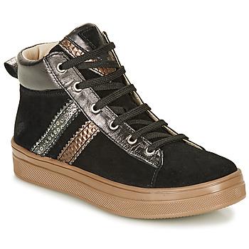 Topánky Dievčatá Členkové tenisky GBB KIBEL Čierna