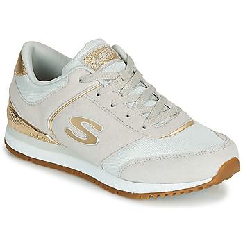 Topánky Ženy Nízke tenisky Skechers SUNLITE Šedá / Zlatá