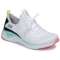 Topánky Ženy Fitness Skechers FLEX APPEAL 3.0 Biela / Ružová / Modrá