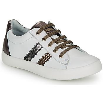 Topánky Dievčatá Nízke tenisky GBB MAPLUE Biela