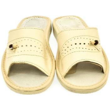 Topánky Ženy Sandále John-C Dámske béžové papuče ALA béžová