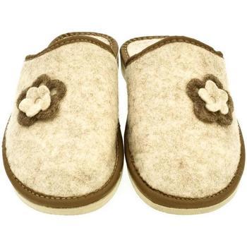 Topánky Ženy Papuče John-C Dámske béžové papuče FLORA béžová