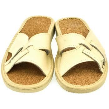 Topánky Ženy Sandále John-C Dámske béžové papuče ELMA béžová