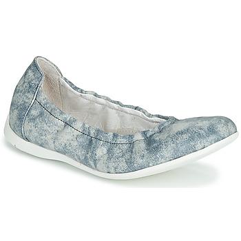 Topánky Dievčatá Balerínky a babies Ramdam LIBRE Modrá