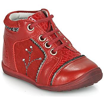 Topánky Dievčatá Polokozačky Catimini CALINE Červená