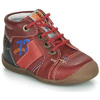 Topánky Chlapci Polokozačky Catimini CYRUS Červená