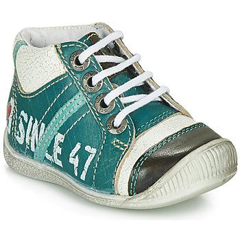Topánky Chlapci Polokozačky GBB ISIS Modrá