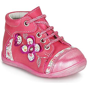 Topánky Dievčatá Polokozačky Catimini CYLENE Ružová
