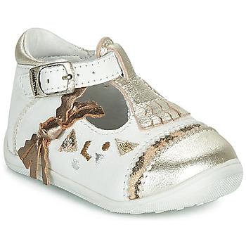 Topánky Dievčatá Balerínky a babies Catimini CANETTE Biela