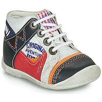 Topánky Chlapci Polokozačky Catimini CACHALOT Biela
