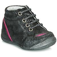 Topánky Dievčatá Polokozačky GBB LAURE Čierna
