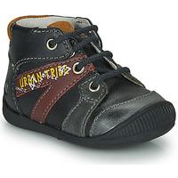 Topánky Chlapci Polokozačky GBB LEWIN Čierna