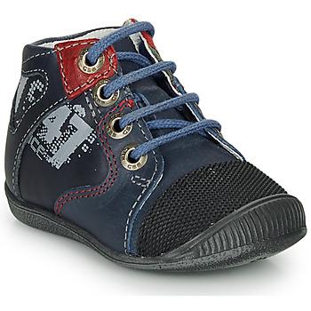 Topánky Chlapci Polokozačky GBB LARI Modrá