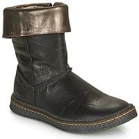 Topánky Dievčatá Čižmy do mesta Ramdam CRACOVIE Čierna