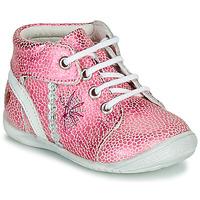 Topánky Dievčatá Polokozačky GBB MELANIE Ružová