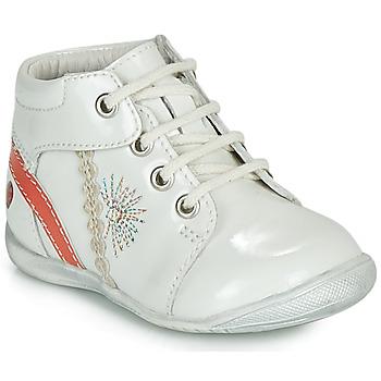 Topánky Dievčatá Polokozačky GBB MELANIE Biela