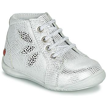 Topánky Dievčatá Polokozačky GBB MANON Biela