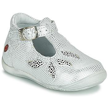 Topánky Dievčatá Sandále GBB MARIE Biela / Strieborná