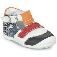 Topánky Chlapci Sandále GBB MARTIN Biela / Námornícka modrá