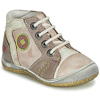 Topánky Chlapci Polokozačky GBB MONTGOMERY Béžová