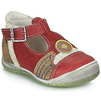 Topánky Chlapci Sandále GBB MARIO Červená