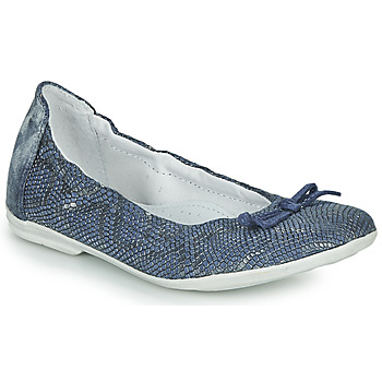 Topánky Dievčatá Balerínky a babies Ramdam KIKI Modrá