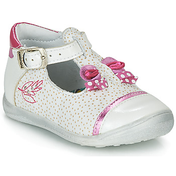 Topánky Dievčatá Sandále Catimini CALATHEA Biela / Ružová