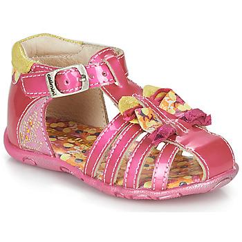 Topánky Dievčatá Sandále Catimini CYGNE Ružová
