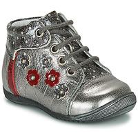 Topánky Dievčatá Polokozačky GBB NAYANA Strieborná