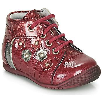 Topánky Dievčatá Polokozačky GBB NAYANA Červená