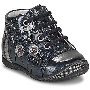 Topánky Dievčatá Polokozačky GBB NAYANA Modrá