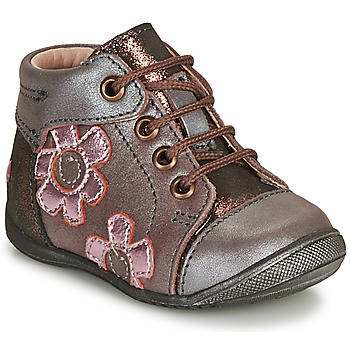Topánky Dievčatá Polokozačky GBB NEIGE Fialová  / Ružová